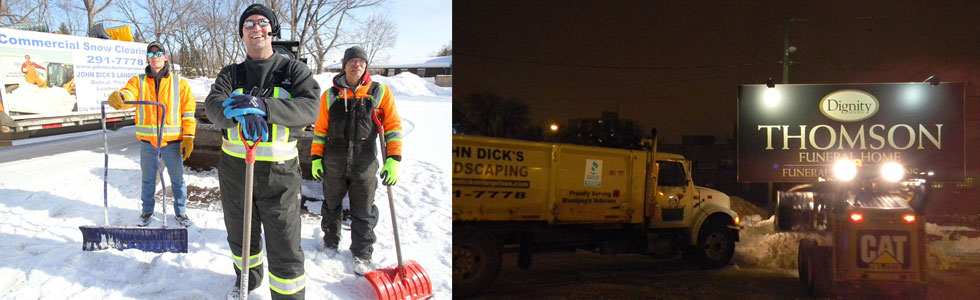 Residential & Commercial Snow Clearing - Call John for Details at 204 291.7778